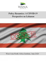 Policy Dynamics: A COVID-19  Perspective on Lebanon