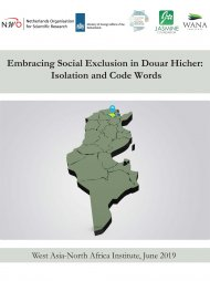 Embracing Social Exclusion in Douar Hicher: Isolation and Code Words
