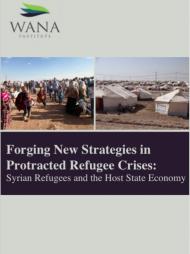 تشكيل استراتيجيات جديدة في أزمات اللاجئين  الممتدة: اللاجئون السوريون واقتصاد الدولة المضيفة - دراسة حالة (الأردن)