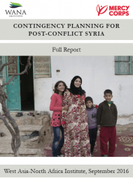 Contingency Planning for Post-Conflict Syria