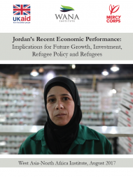 Jordan's Recent Economic Performance: Implications for Future Growth, Investment, Refugee Policy and Refugees