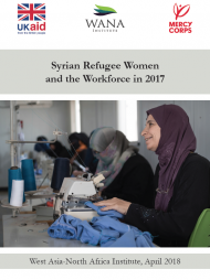 Syrian Refugee Women and the Workforce