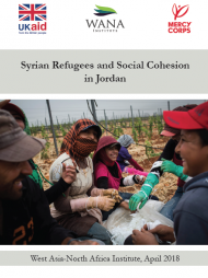 Syrian Refugees and Social Cohesion in Jordan
