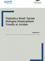 Statistics Brief: Syrian Refugee Employment Trends in Jordan