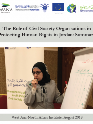 The Role of Civil Society Organisations in Protecting Human Rights in Jordan: Summary