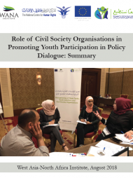 Role of Civil Society Organisations in Promoting Youth Participation in Policy Dialogue: Summary
