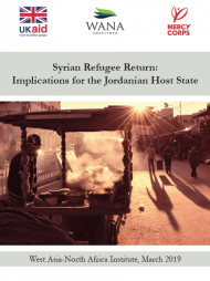 Syrian Refugee Return: Implications for the Jordanian Host State