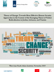 Theory of Change: Towards More Effective Human Security Approaches in the Context of the Emerging Threat of Violent Radicalisation in Jordan, Lebanon, and Tunisia