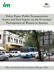 Policy Paper: Public Transportation Issues and their Impact on the Economic Participation of Women in Amman