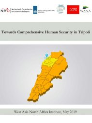 Towards Comprehensive Human Security in Tripoli