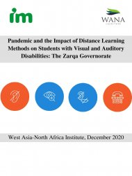 Pandemic and the Impact of Distance Learning Methods on Students with Visual and Auditory Disabilities: The Zarqa Governorate