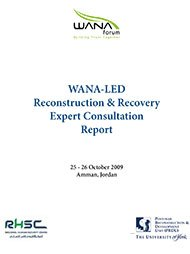 WANA-led Reconstruction and Recovery Expert Consultation Report