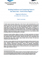Building Resilience and Sustaining Peace in the West Asia – North Africa Region: Reflections