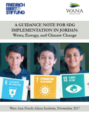 A Guidance Note for SDG Implementation in Jordan: Water, Energy, and Climate Change