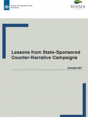 Lessons from State-Sponsored Counter-Narrative Campaigns