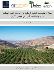 Condensed Report: Decoupling National Water Needs for National Water Supplies: Insights and Potential for Countries in the Jordan Basin