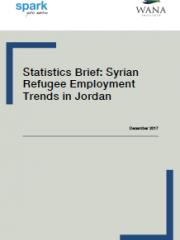 ملخص إحصائي: اتجاهات التوظيف للاجئين السوريين في الأردن