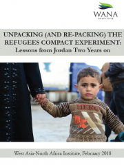 Unpacking (and Re-Packing) the Refugees Compact Experiment: Lessons from Jordan Two Years on