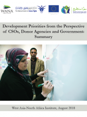 Development Priorities from the Perspective of CSOs, Donor Agencies and Government: Summary