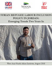 Syrian Refugee Labour Inclusion Policy In Jordan: Emerging Trends Two Years In