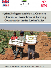 Syrian Refugees and Social Cohesion in Jordan: A Closer Look at Farming Communities in the Jordan Valley
