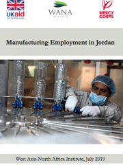 Manufacturing Employment in Jordan