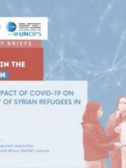 """Exploring the impact of COVID-19 on the """"livelihoods"""" of Syrian refugees in Jordan"""