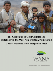 The Correlates of Civil Conflict and Instability in the West Asia-North Africa Region - Conflict Resilience Model Background Paper