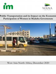 Public Transportation and its Impact on the Economic Participation of Women in Madaba Governorate